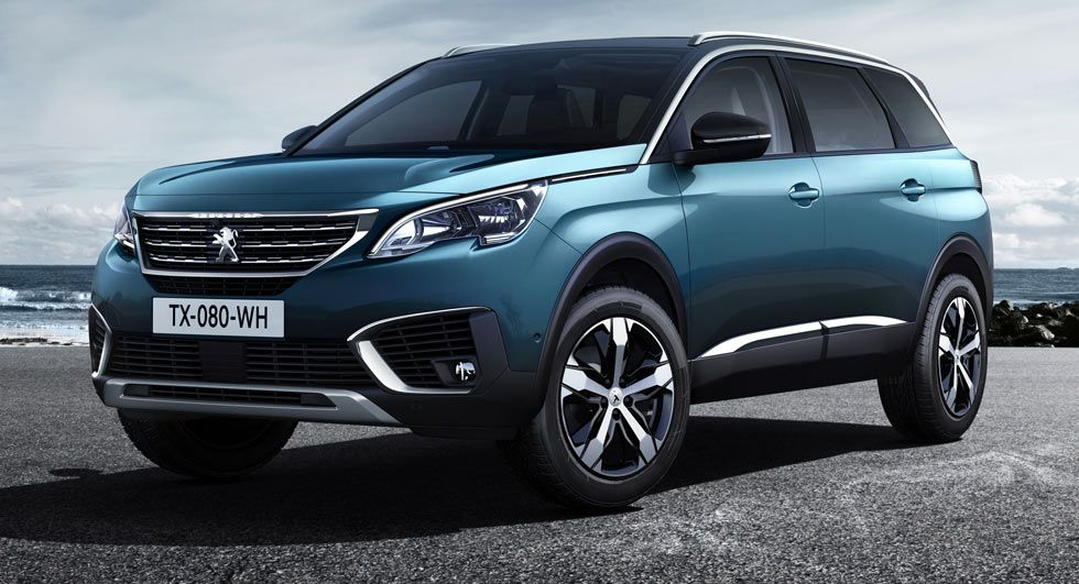 Peugeot Debuts All New 5008 As A 7 Seater Suv Peugeot 3008 7