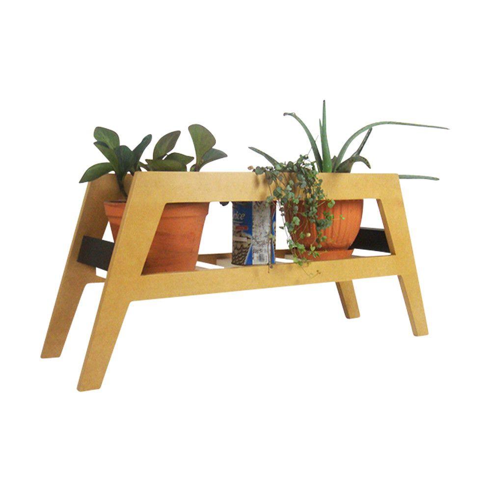 Planteur Macetero de MDF Impermeabilizado - Natural | Muebles ...