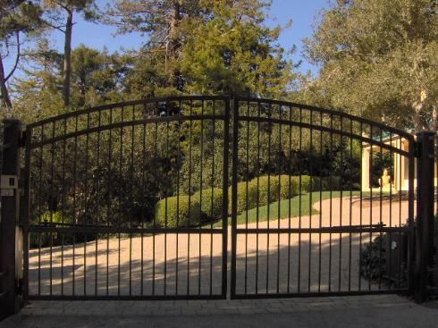 395a Arched Gate Design At Www Ccoigateandfence Com Driveway Gate
