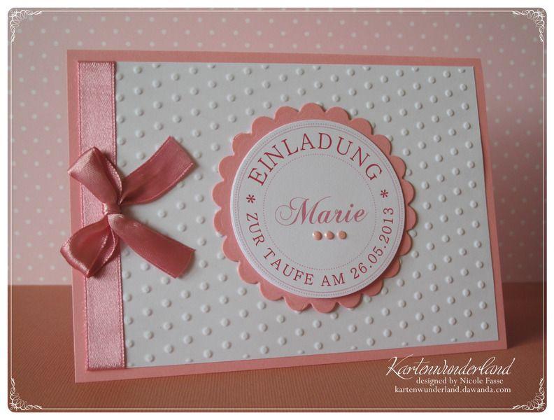 einladung einladungskarte taufe - viele farben   einladungskarten, Einladung