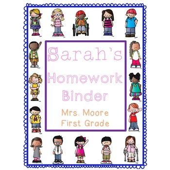 Editable Folder/Binder Cover | Binder covers, Lesson plan ...