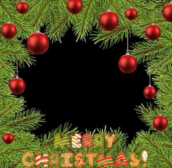 Christmas PNG Transparent Frame Border | Christmas Borders ...