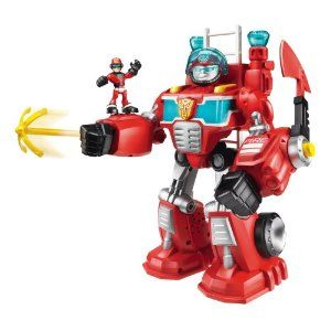 Transformers Rescue Bots Playskool Heroes Electronic Heatwave The