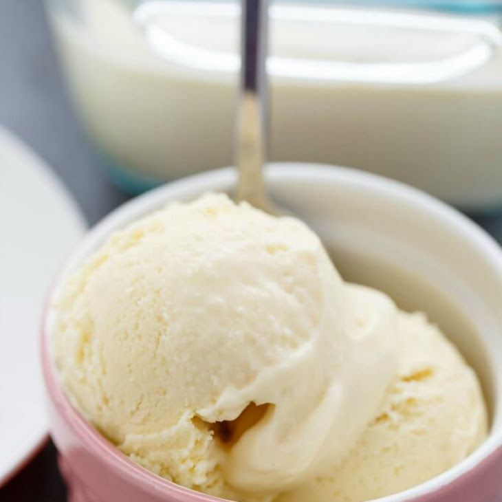 Basic Vanilla Ice Cream Recipe Yummly Recipe Homade Ice Cream Recipes Vanilla Ice Cream Recipe Homemade Vanilla Ice Cream