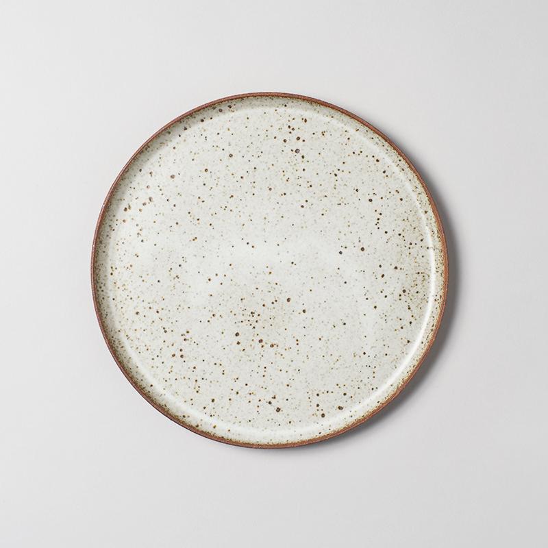 Set Of 6 Speckled Dinner Plates Handmade Ceramics Plates Clay Plates Ceramic Glaze Recipes
