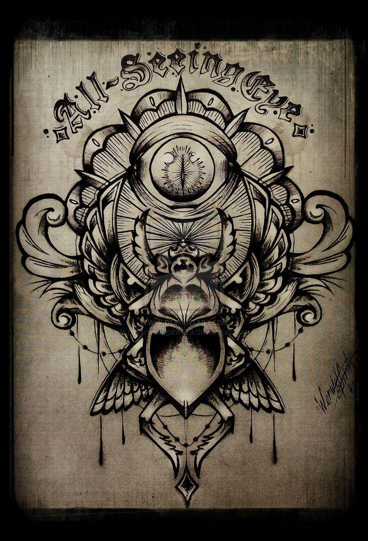 Illuminati Tattoos Designs Illuminati owl tattoo designs