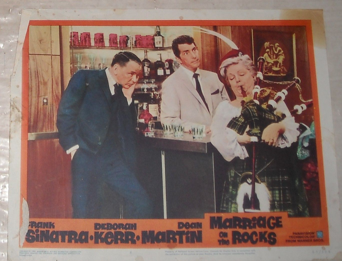dean martin hard to find pictures | ... on the ROCKS LOBBY CARD 2 FRANK SINATRA DEAN MARTIN DEBORAH KERR