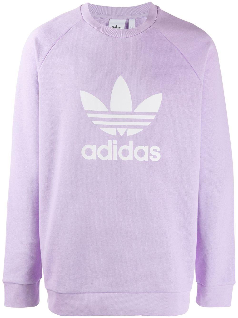 Adidas Originals Adidas Purple Glow Sweatshirt Adidasoriginals Cloth [ 1334 x 1000 Pixel ]