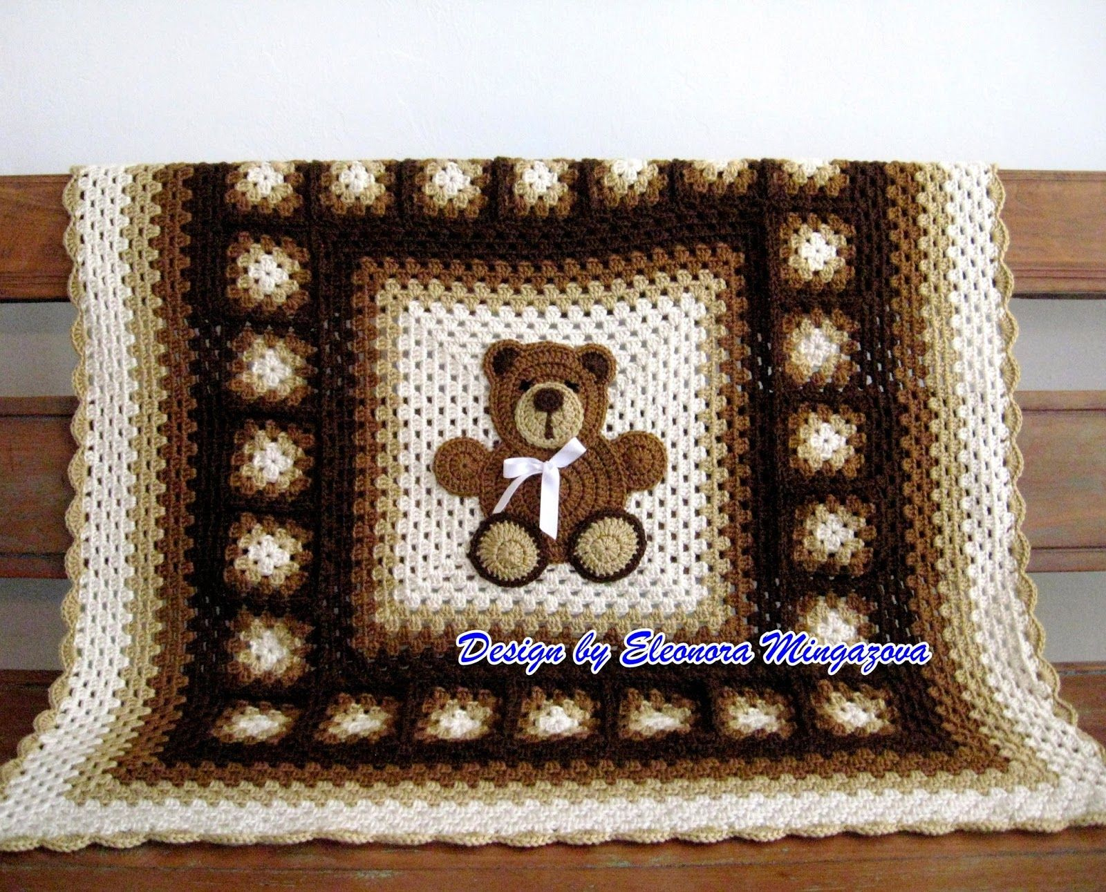 Love Crochet: Teddy Bear blanket 39\