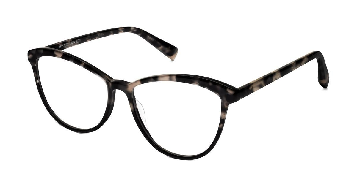 aee3d875ab0 A cat-eye frame with a delicate