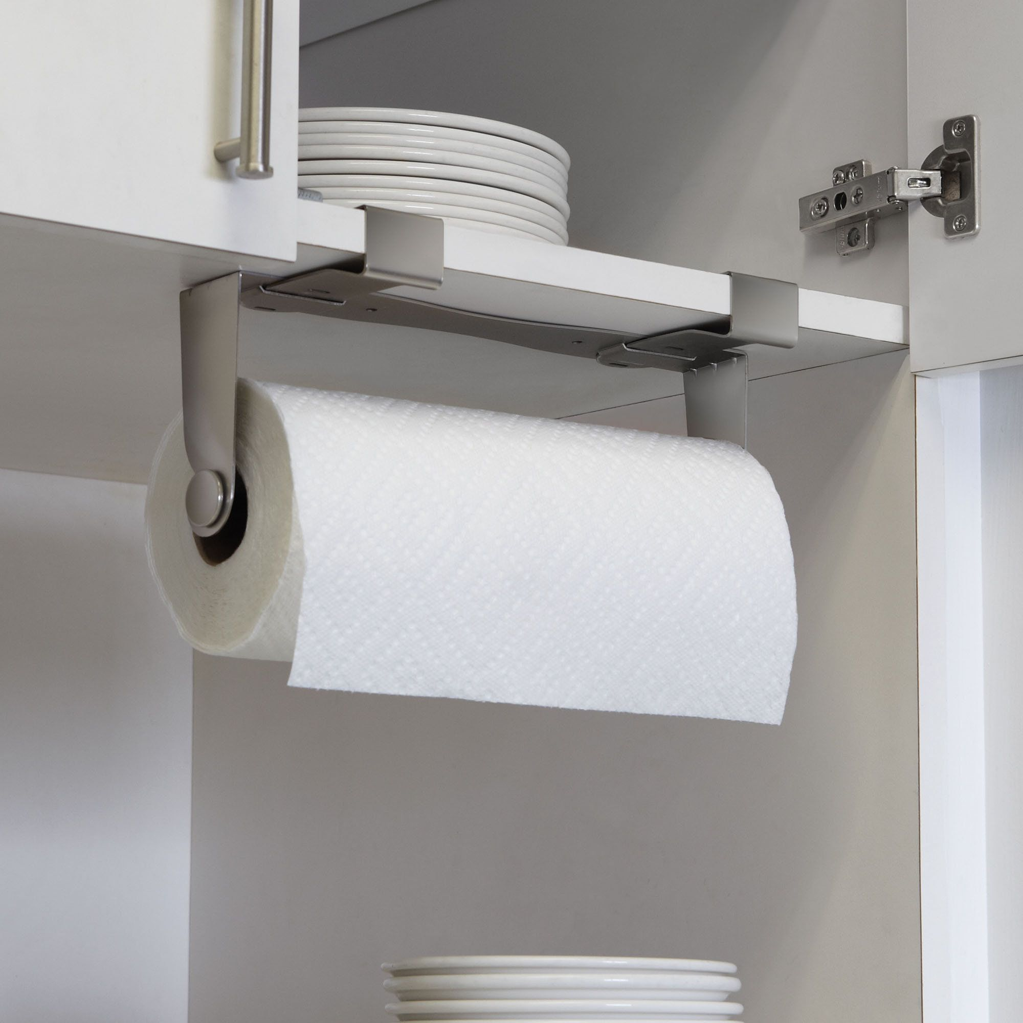 5 Favorites The No Drill Instant Paper Towel Holder Paper Towel