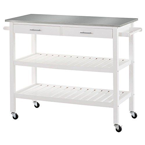 Sandusky Lee Mkt472036 Stainless Steel Top Kitchen Cart