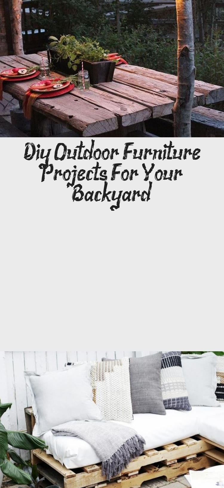 Diy Outdoor Furniture Projects For Your Backyard - DIY & Crafts - Do IT Yourself...#backyard #crafts #diy #furniture #outdoor #projects #balconybar