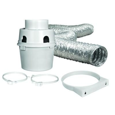 Everbilt 4 In X 5 Ft Indoor Dryer Vent Kit With Flexible Duct Tdidvkhd6 Indoor Dryer Vent Laundry Dryer Home Depot
