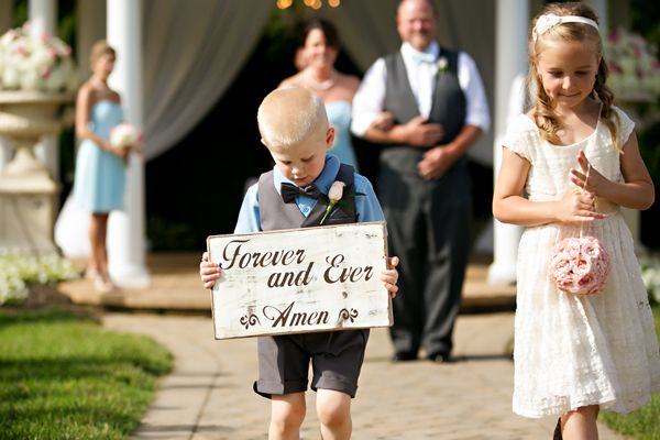 Castleton Farms Wedding by Katharine Birkbeck Ring bearer
