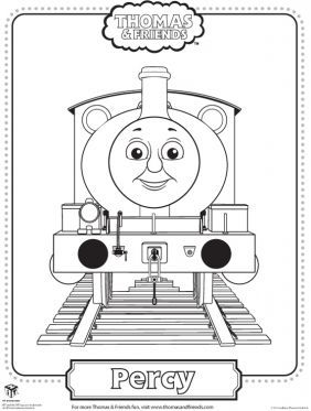 percy coloring page thomas friends coloring pages for kids sprout - Thomas Friends Coloring Pages