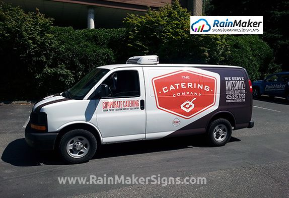Rainmaker Signs Fleet Graphics Catering