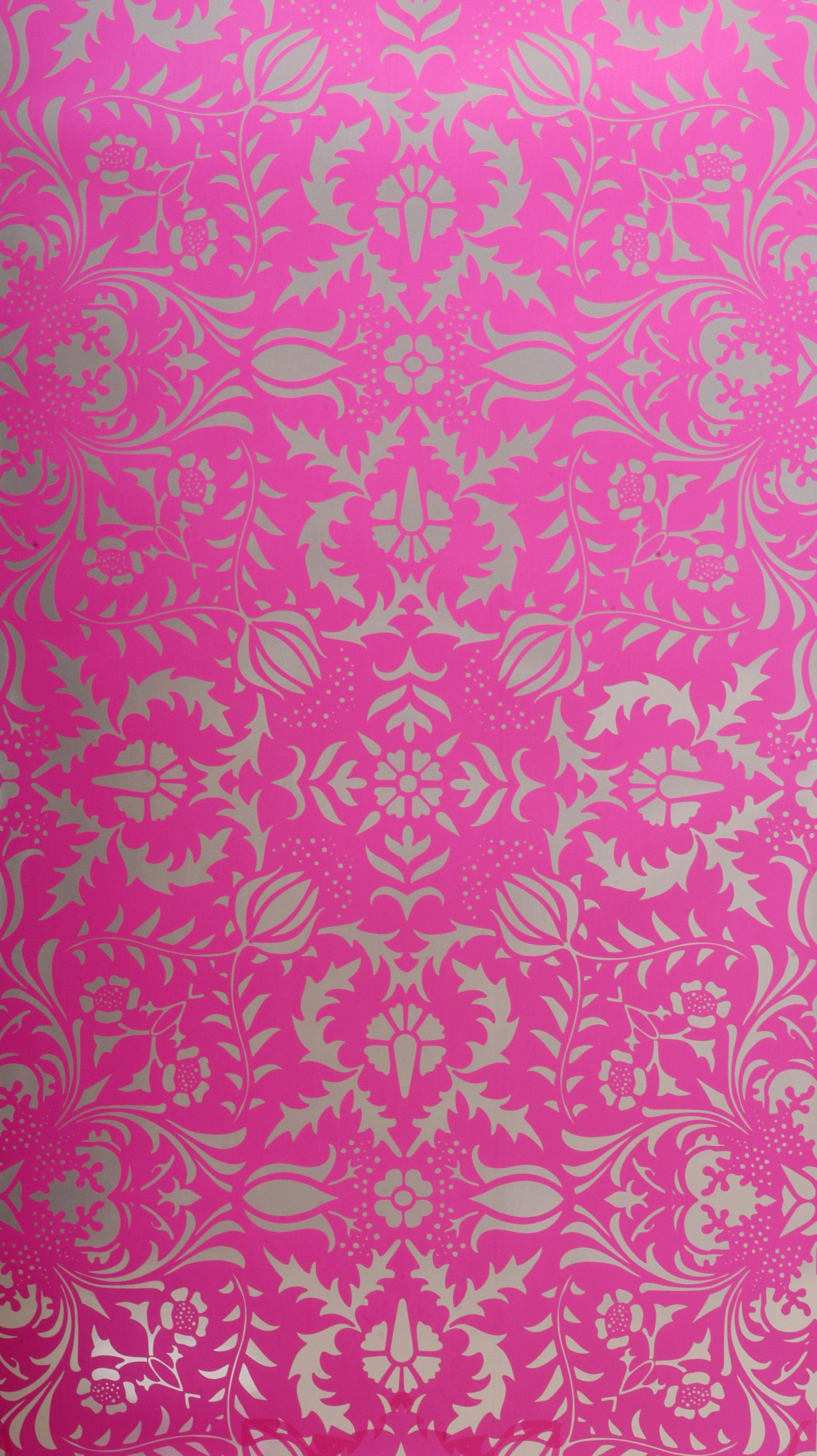 Dauphine: Electric Raspberry wallpaper from Flavorpaper.com