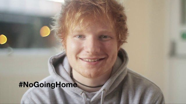 Ed Sheeran for Crisis highlighting their 'No Going Home' Campaign. Ed performs the tradition Irish folk song 'The Parting Glass'  2012