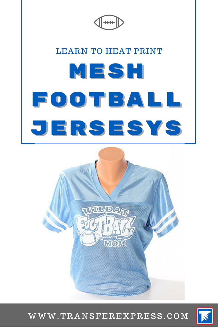 ff1228c152b Learn how to use your heat press to decorate mesh football jerseys ...