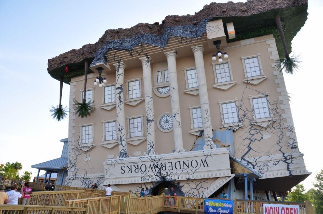 Wonderworks Childrens Museum 2 Flip Myrtle Beach South Carolina