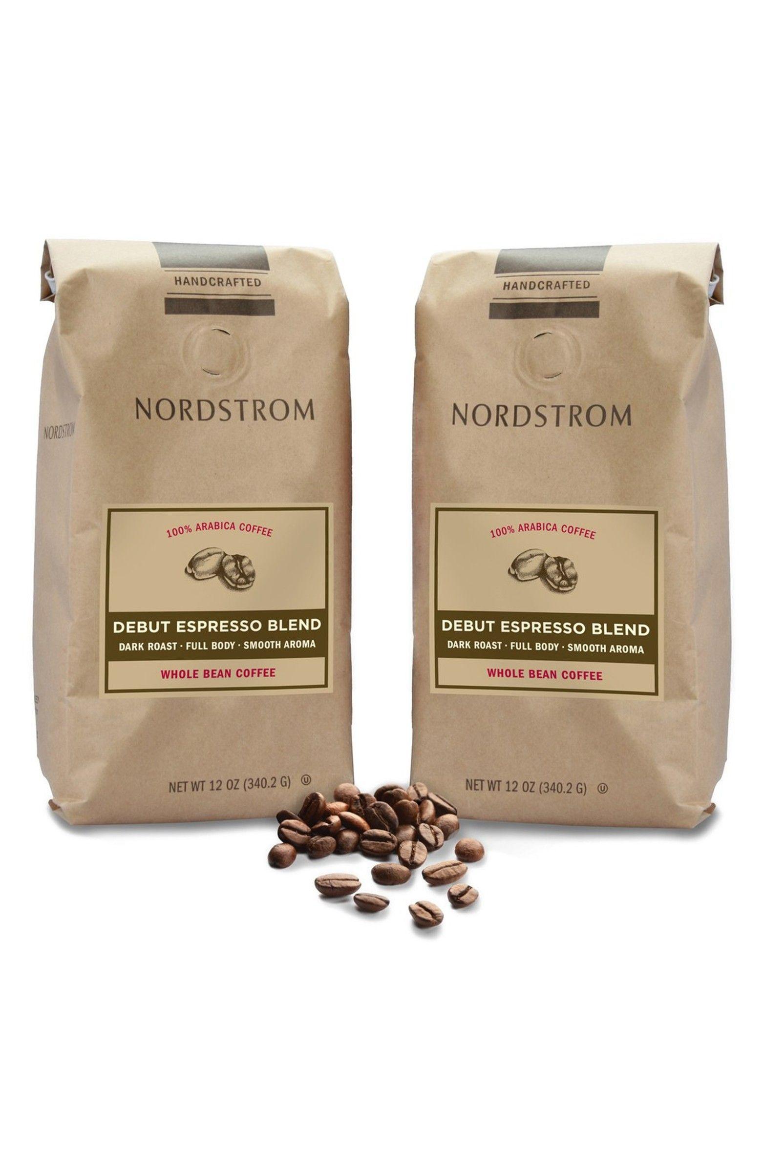 Nordstrom 2 Pack Coffee Debut Espresso Blend Whole Bean Coffee Nordstrom Coffee Beans Coffee Beans