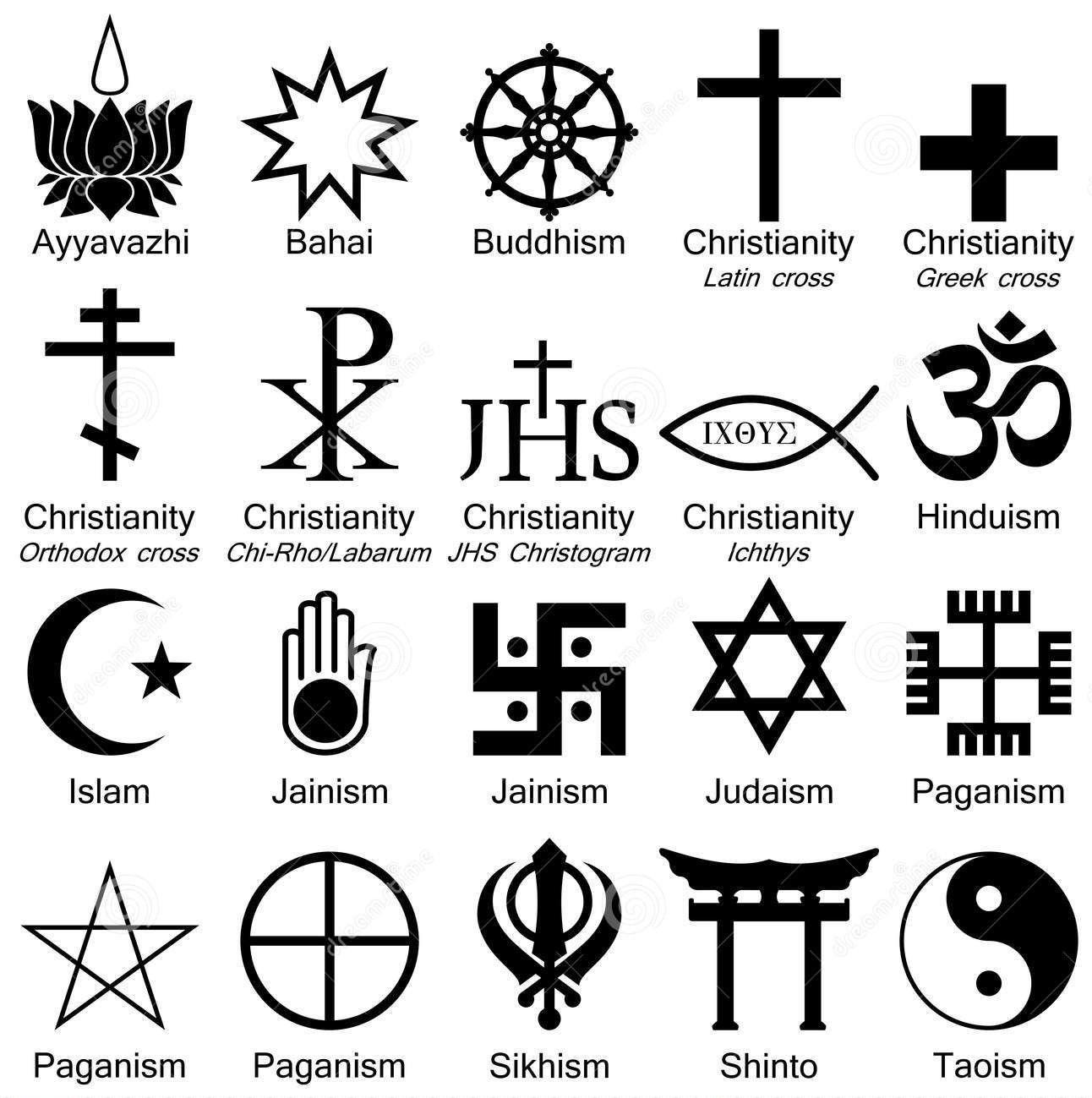 Monde de symboles de religion 8129331g 12921299 mlange occult symbols and meanings buycottarizona Choice Image