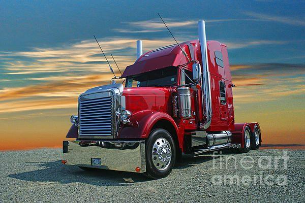 Freightliner Catr0316 12 By Randy Harris Freightliner Freightliner Trucks Big Trucks
