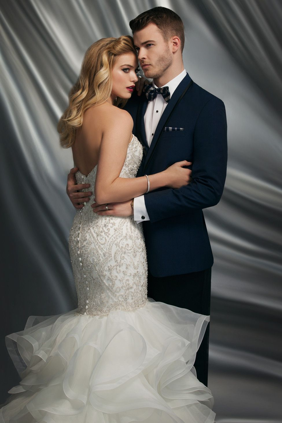 Celebrate your milestone occasion in one of these epic wedding gowns