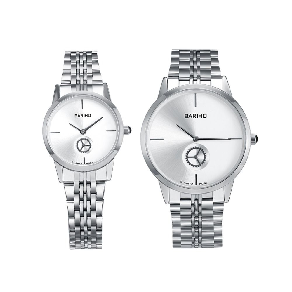 Gift Box Watch Quality Set Directly From China Suppliers Bariho Brand Stainless Steel Strap Watches Top Luxury