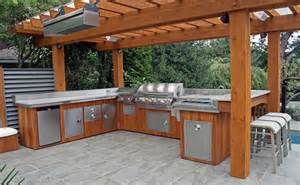 Modular Outdoor Kitchen The Honest Cat Food Cedar Cabinets Bing Images Outdoors