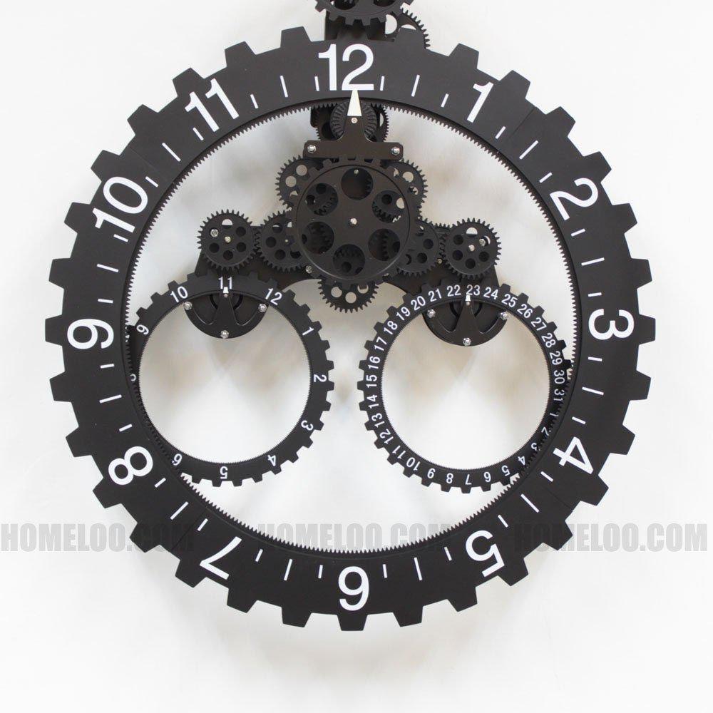 Cool Wall Clocks For Men Gear Wall Clock Clock Wall Clock