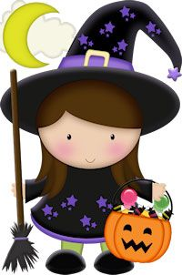 Brujita Desenhos De Bruxas Dia Das Bruxas Bruxa Halloween