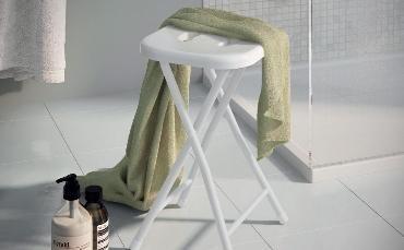Sgabelli bagno pde sgabello da bagno b colombo design