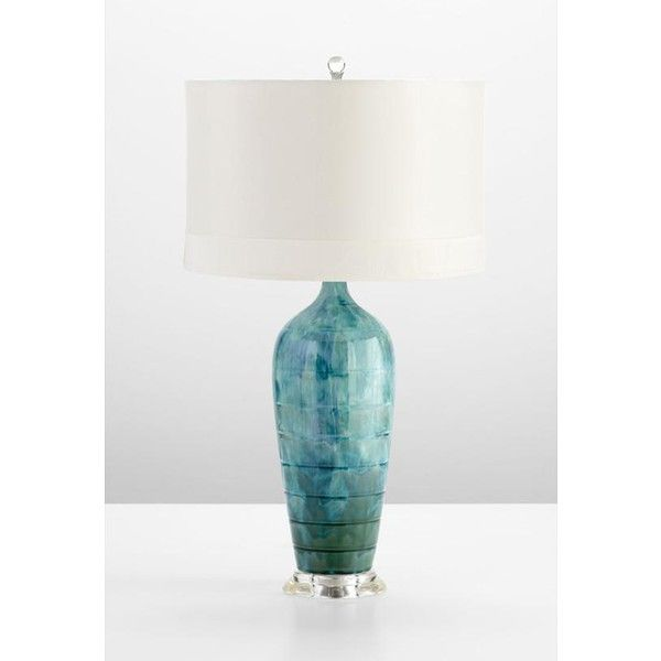 Elsia Table Lamp - Table Lamps - Lamps - Lighting | HomeDecorators.com ($179) via Polyvore
