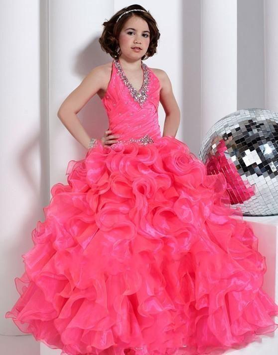 Pin By Firmeza99 On Inspiracje Girls Long Dresses Little Girl Pageant Dresses Pageant Dresses