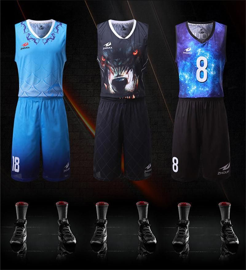Free Shipping Sublimation Basketball Team Uniforms Oem Your Own Jersey Men Youth Basketball Pinnies Basketba Basketball Clothes Basketball Shirts Team Uniforms