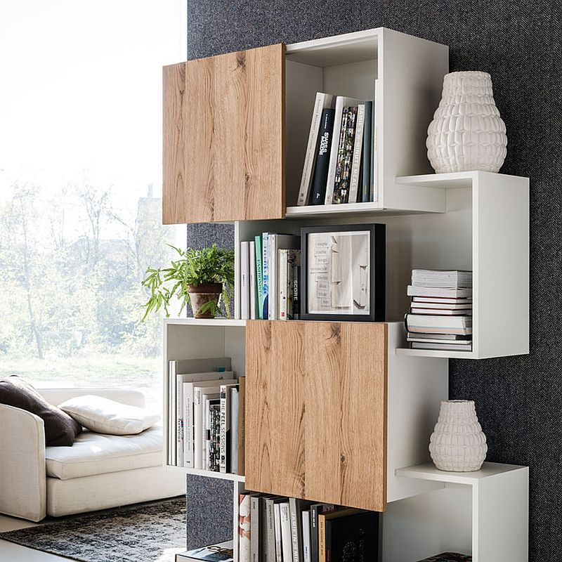4 Awesome Bookcase Designs For The Trendy Modern Home Ev