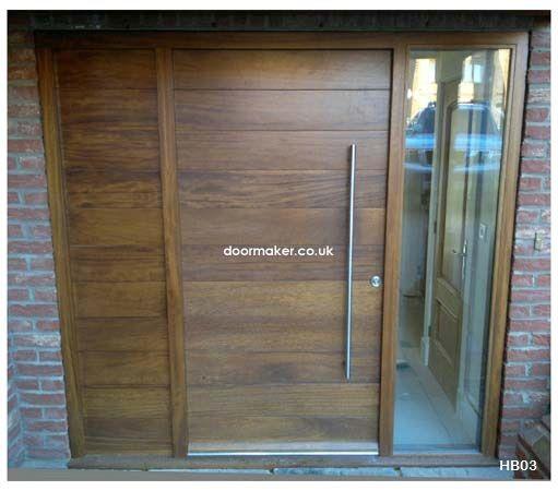 Contemporary Front Doors, oak iroko and other woods, Bespoke Doors ...