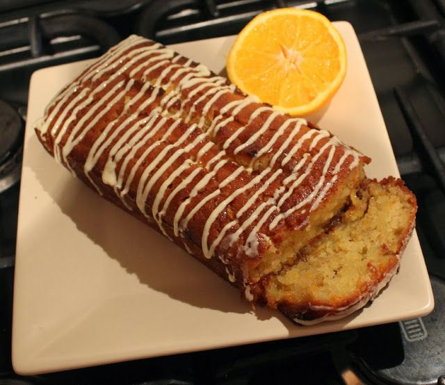 Orange and White chocolate Loaf