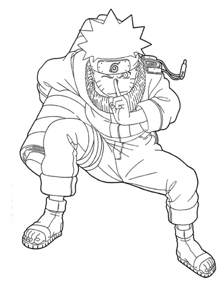 Free Printable Naruto Coloring Pages For Kids | Cartoon Coloring ...
