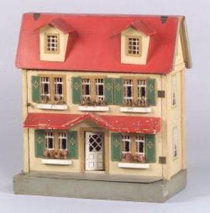 Schoenhut Dutch Colonial Dollhouse