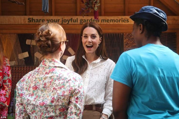 #katemiddleton #which #co-designed The garden, which was co-designed with landscape architects Andree Davies and Adam White, ...