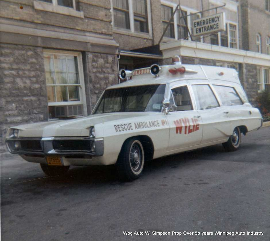 Private ambulances of the 1960\'s 70\'s and 80\'s which covered the ...