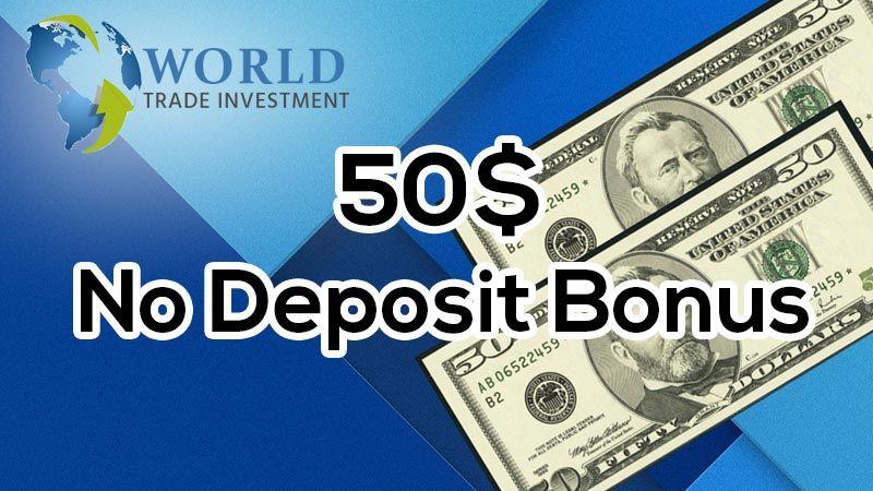 Wti No Deposit Bonus 50 Free Investing Bonus
