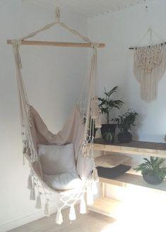 Hammock Universal Hammock. Hammock chair boho hammock. Rocking-chair with macrame, hanging chair, rocking-chair