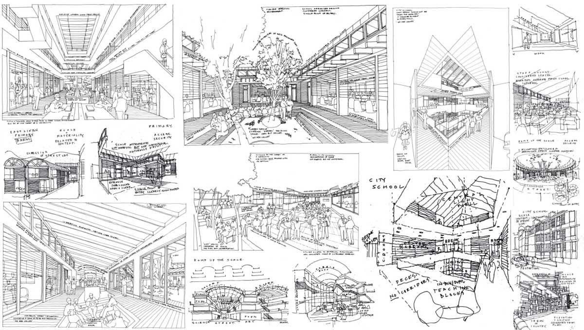 Undergraduate Architecture Student Portfolio Examples Google