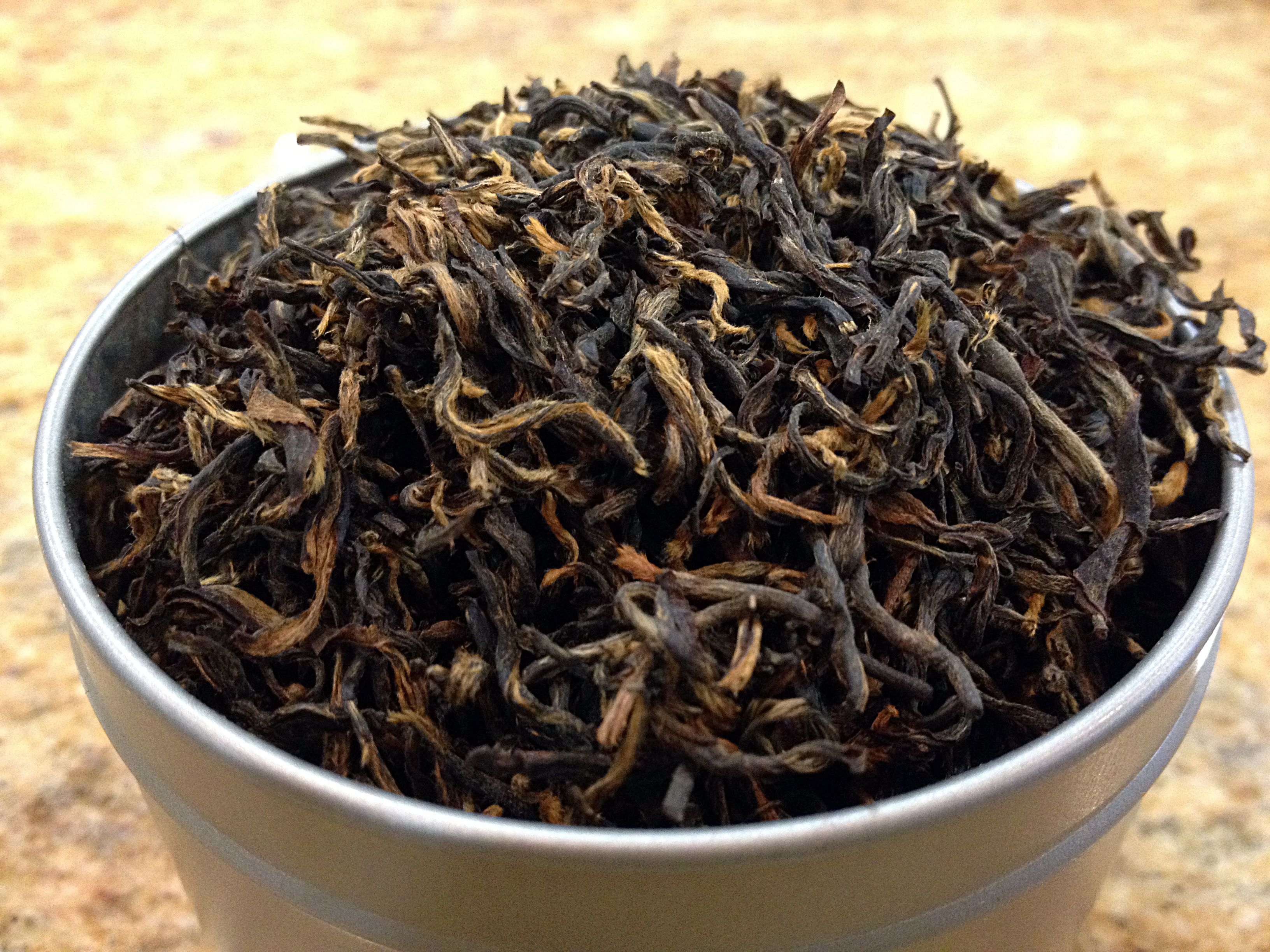 Golden Monkey This Special Tippy Orange Pekoe Tea Is Grown In China Hunan Province And Infuses Bright With A Light Lingering Toasty Ch Orange Pekoe Tea How To Dry Basil Freshly Baked