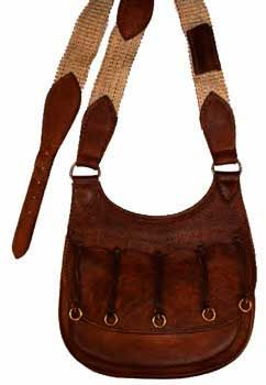 Custom leather goods for the muzzleloader and mountain man