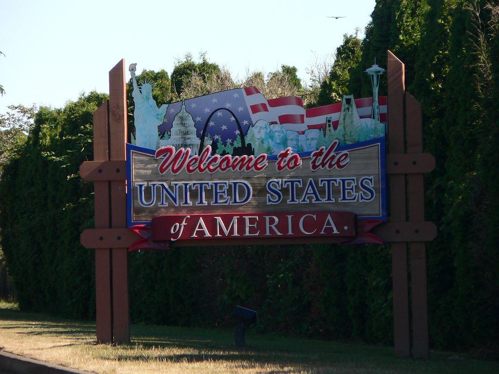 Us Canada Border United States United States Of America States